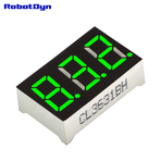 "Afișaj 3 cifre LED 0.36"" 7-segmente verde poze/3-Digit-7-segments-LED-Display-tube-decimal-dots-GREEN-1.jpg"