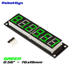 "Afișaj 6 cifre LED 0.56"" 7-segmente verde poze/6-Digit-LED-0-56-Display-Tube-decimal-1.jpg"